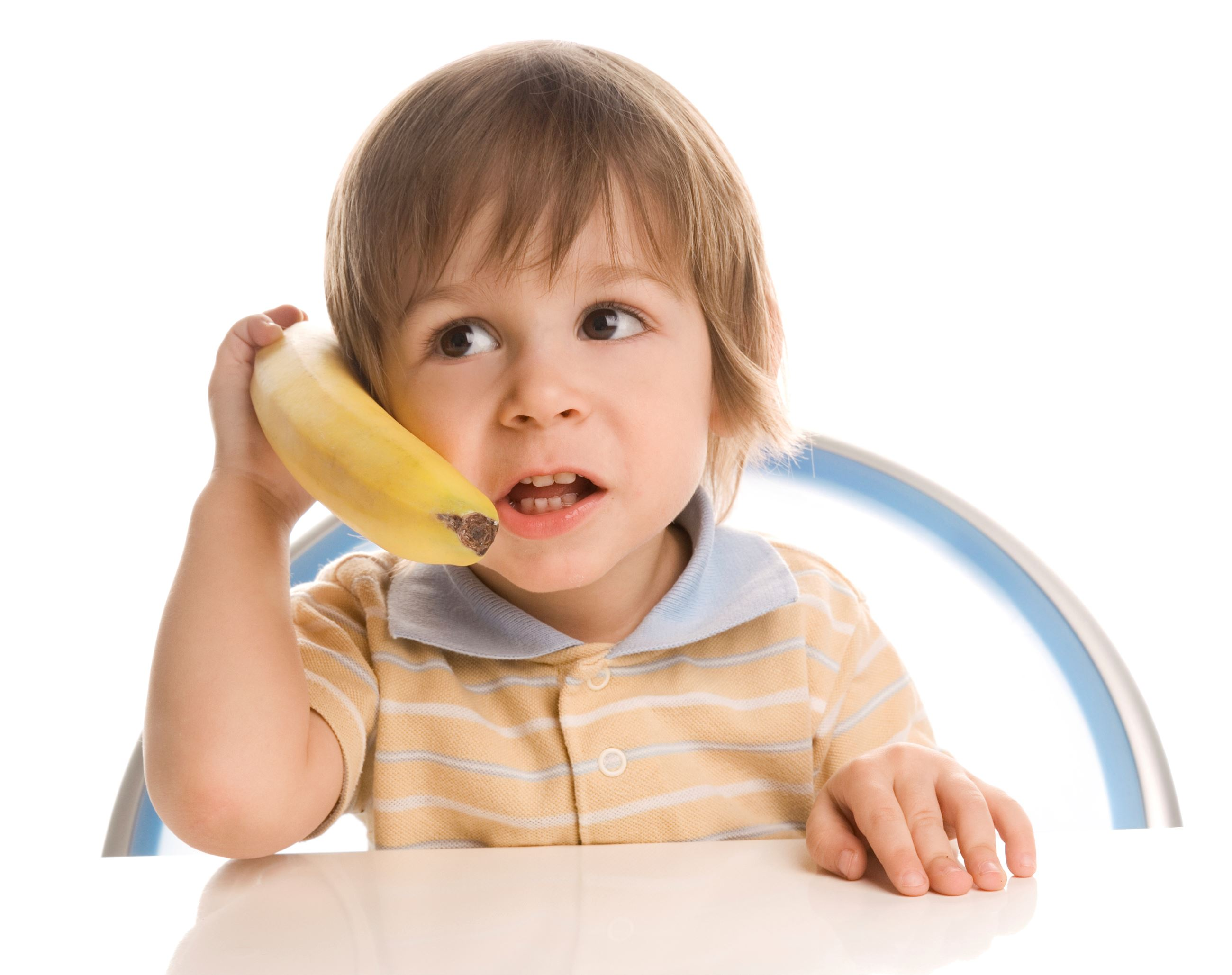 Child on Banana Phone