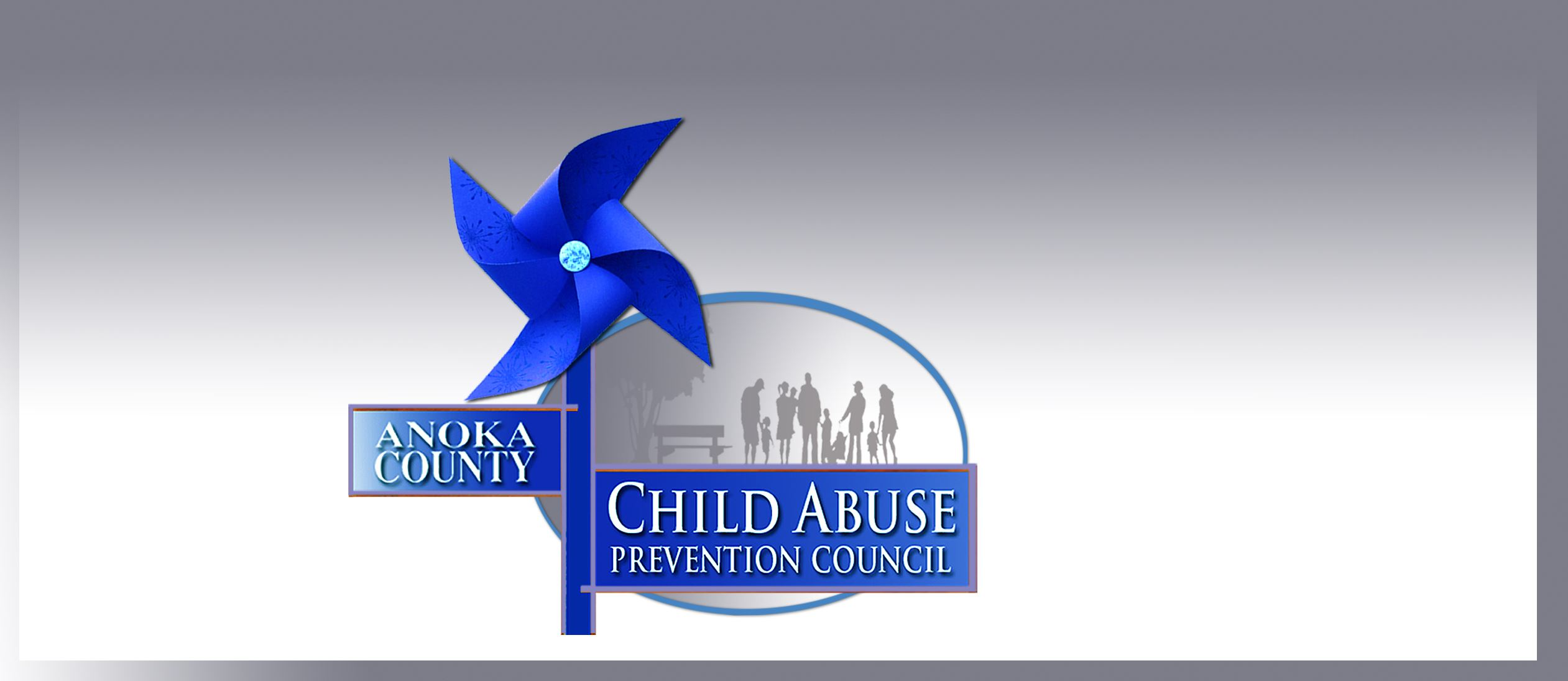Anoka County Child Abuse Prevention Council Logo Blue