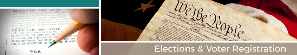 Elections and Voter Registration