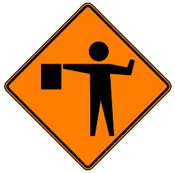 Flagman Ahead